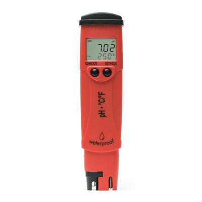 pH and Temperature Testers HI98128