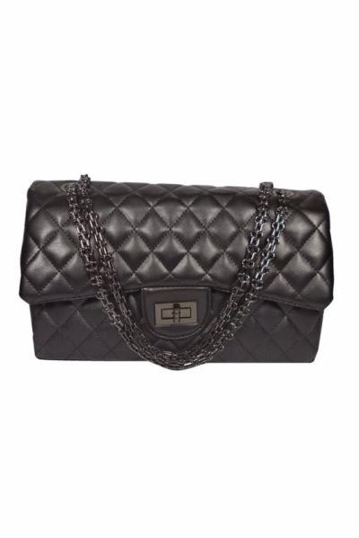 Design Leather Bag (Black)