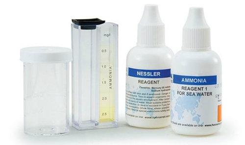 Ammonia Test Kit HI3826 for Seawater Chemical Test Kits  Water / Liquid Analysis