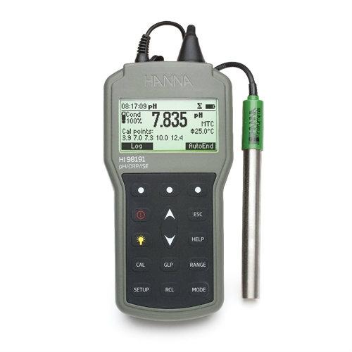 Professional Waterproof Meters HI98191 pH Water / Liquid Analysis