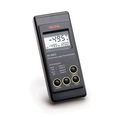 Heavy-duty K-Type Thermocouple Thermometer HI9063