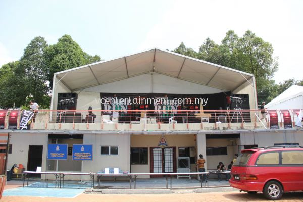 Marquee 10 Meter x 5 Meter With White Roof
