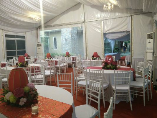 Marquee With Aircon