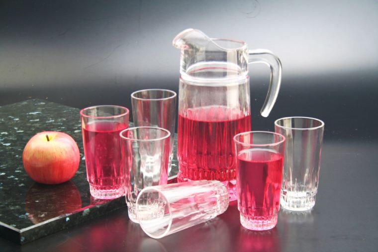 7pc Crystal Glass (604-107-24406)