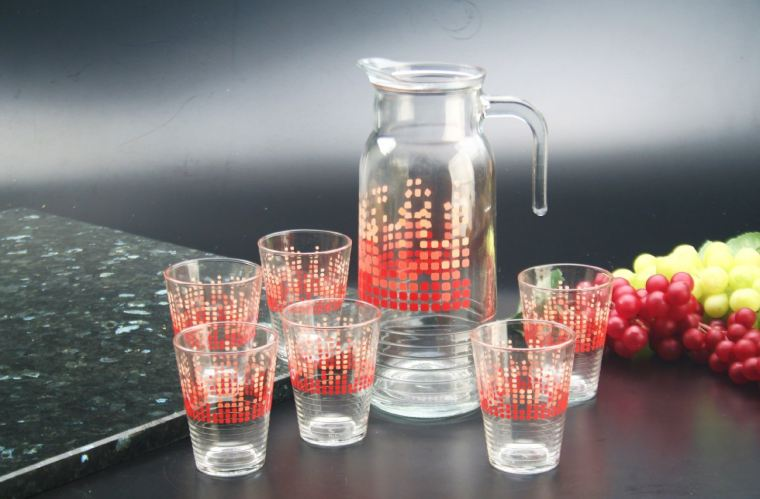 7pc Crystal Glass (604-107-24420)