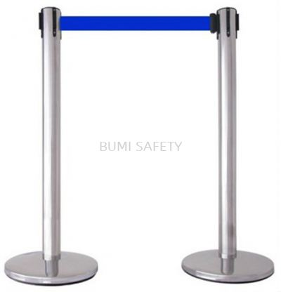 Stainless Steel Self Retractable Belt Q-UP Stand