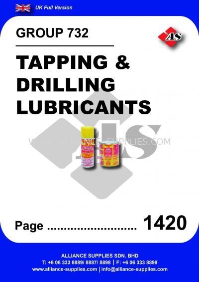 732 - Tapping & Drilling Lubricants
