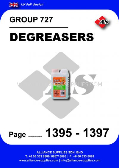 727 - Degreasers