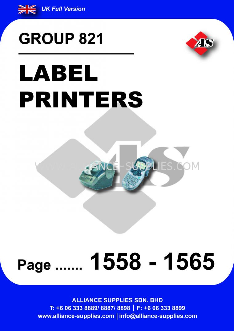 821 Label Printers 09 11 Office Supplies And Packaging Cromwell Uk