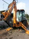 Backhoe Loader With Hydraulic Breaker Backhoe Loader With Hydraulic Breaker Rental