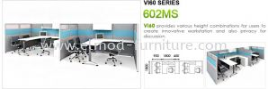 602MS Series Open Plan Workstation Office System