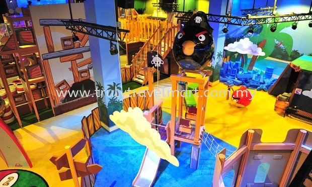 Angry Birds Theme Park Promotion