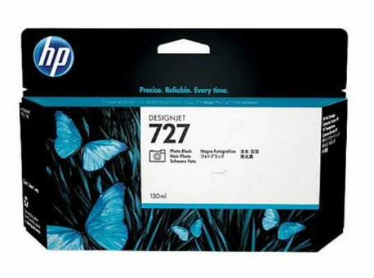 HP 727 ORIGINAL PHOTO BLACK INK CARTRIDGE (B3P23A) COMPATIBLE TO HP PRINTER DESIGNJET T920