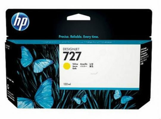 HP 727 ORIGINAL YELLOW INK CARTRIDGE (B3P21A) COMPATIBLE TO HP PRINTER DESIGNJET T920
