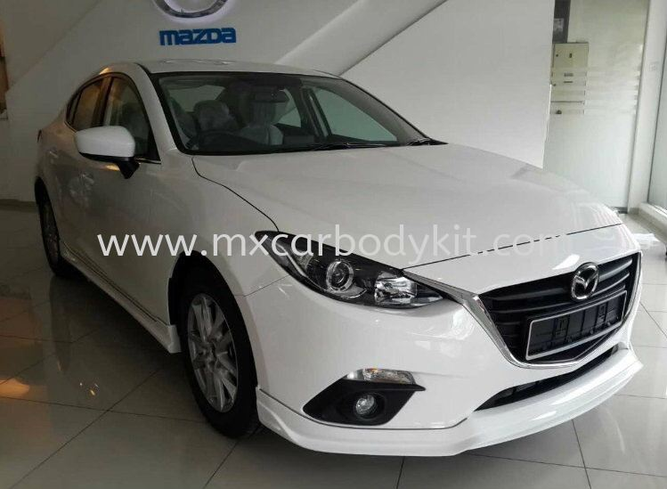 MAZDA 3 SEDAN 2015 RS DESIGN BODY KIT + SPOILER  3 SEDAN MAZDA