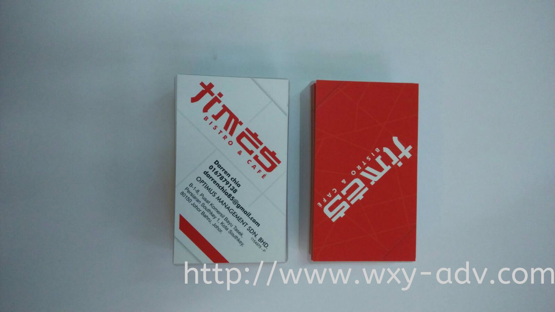 Times name card business card name card johor bahru jb johor times name card reheart Choice Image