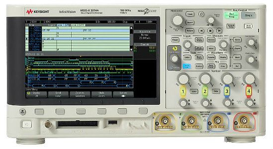 DSOX3034A Oscilloscope: 350 MHz, 4 Channels Oscilloscope  Keysight Technologies