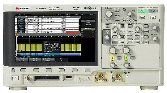 DSOX3052A Oscilloscope: 500 MHz, 2 Channels Oscilloscope  Keysight Technologies