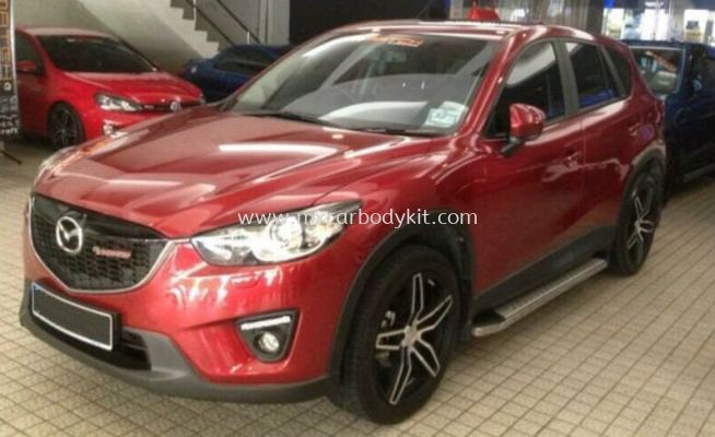 MAZDA CX-5 BUMPER GUARD SET