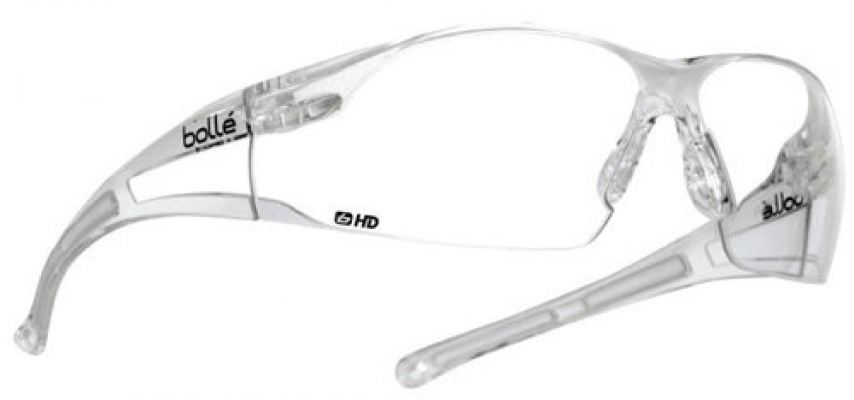 Bolle Rush Safety Clear Eyewear