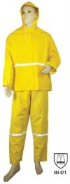 Heavy Duty Rain Suit Rainwear Protective