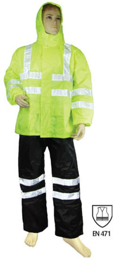 Heavy Duty Hi-Vis Rain Suit