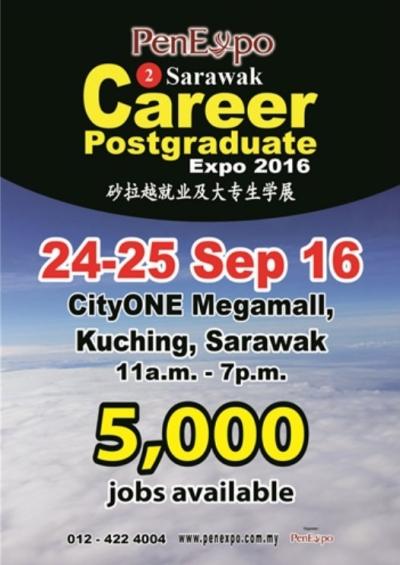 2nd Sarawak Career & Postgraduate Expo 2016