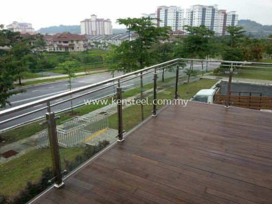 Stainless steel Glass fencing 8