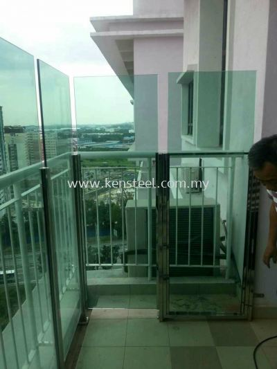 Stainless steel Glass fencing 7