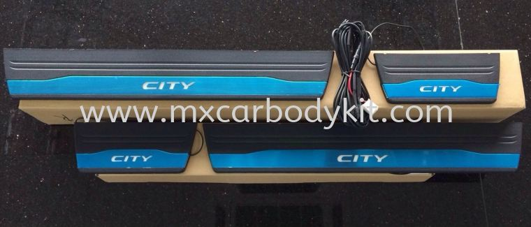 HONDA CITY 2014 SIDE SILL PLATE WITH LED SIDE SILL PLATE ACCESSORIES AND AUTO PARTS
