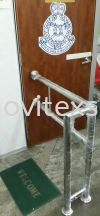 stainless Steel Q bar or safety Divider pole  Hotel floor plan/Map sign /Car tageAluminium