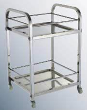 BJY-ST-KD Stainless Steel Service Trolley Stainless Steel Fabrication