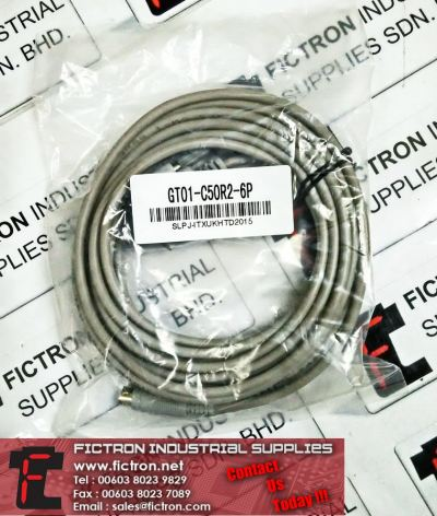 GT01-C50R2-6P MITSUBISHI PLC Programming Cable Supply Malaysia Singapore Thailand Indonesia Philippines Vietnam Europe & USA
