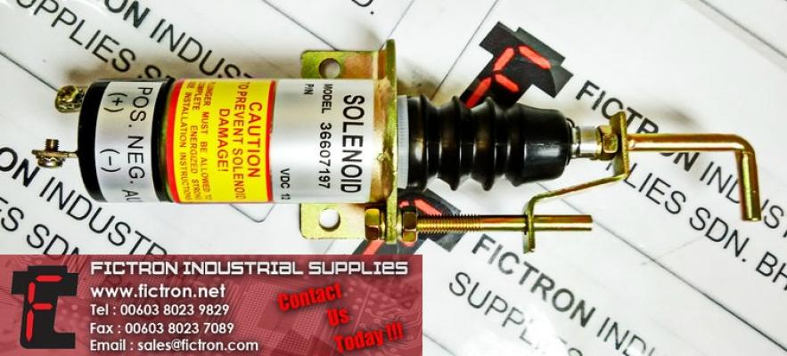 36607197 12VDC SOLENOID Supply Malaysia Singapore Thailand Indonesia Philippines Vietnam Europe & USA