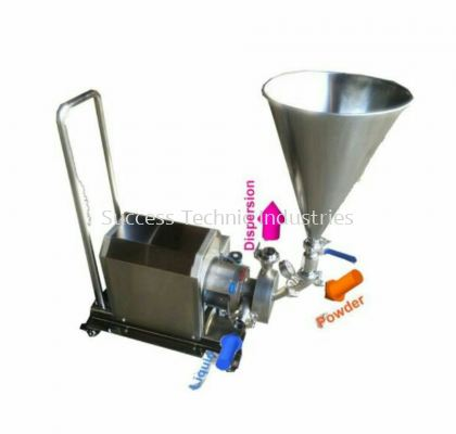 VT300PW-05 powder suction inline homogenizer ORDER CODE:7845000