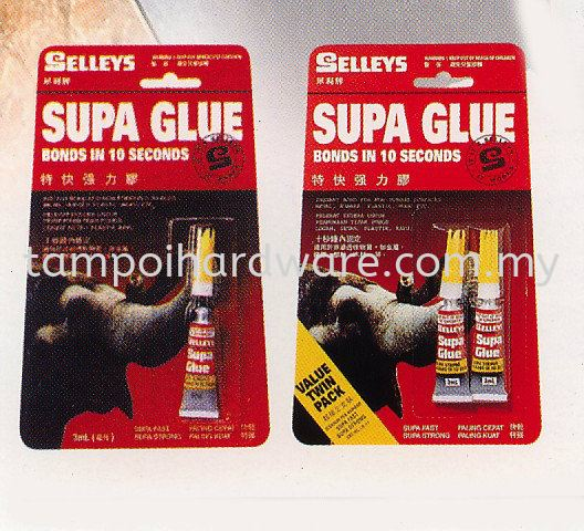 Selleys Supa Glue Glues Chemical and Glues and Oils