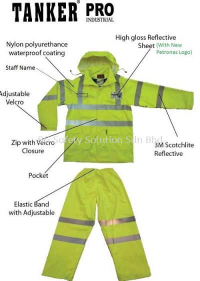 <TANKER PRO INDUSTRIAL> Rainsuit