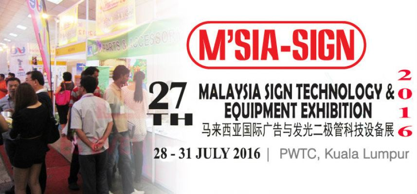 27th Malaysia Sign Technology & Equipment