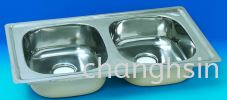 DOUBLE BOWL (NDS+42) LOWER GRADE SERIES SINKS