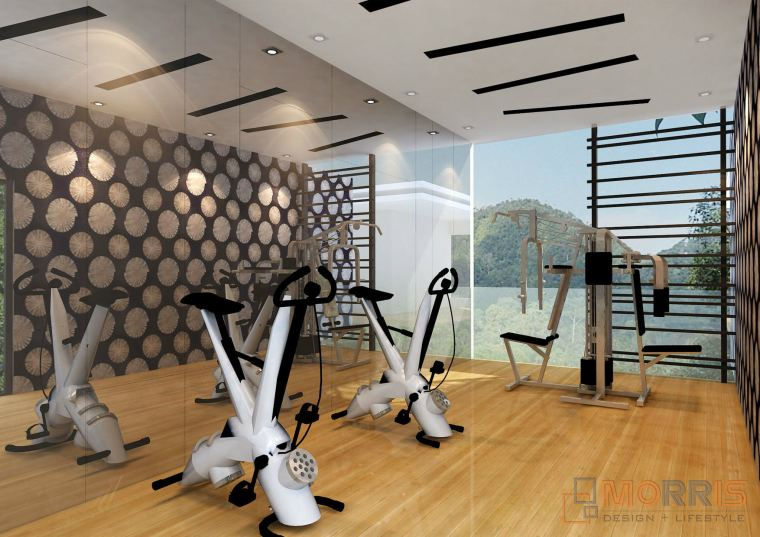 Gym Area Design Austin Height GYM AREA DESIGN