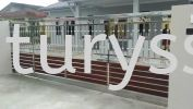 Taman Johor Jaya Stainless Steel Main Gate