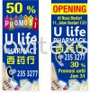 bunting jb /banners n big  poster jb Banner and Bunting / Roll Up Banner / Pop Up System / Mini Flat