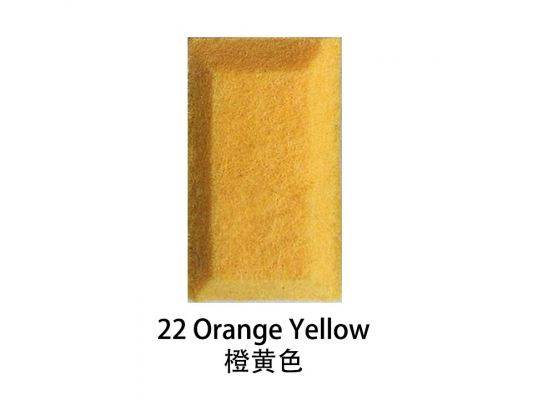 Soundproof Panel 22 Orange Yellow