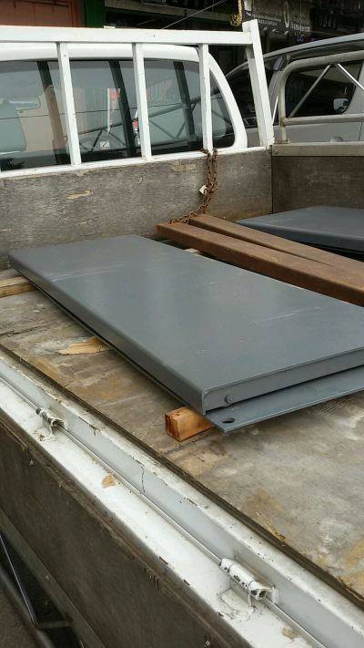Alignment Rear Slip Plate
