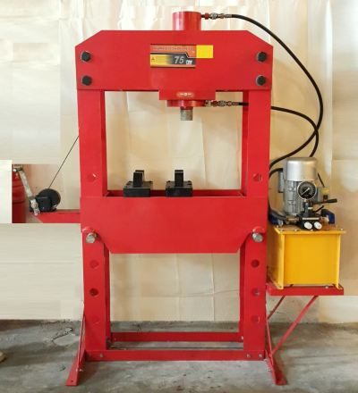 75Ton Electric Shop Press ID30504