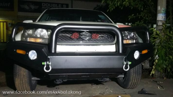 custom made bullbar