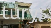 Taman Ungku Tun Aminah Stainless steel Awning, Stainless steel polycarbonate skylight and Stainless steel  glass roof