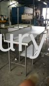 Taman Rinting Stainless Steel Table