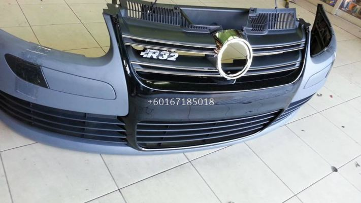 volkswagen golf gti mk5 front bumper r32 style mk5 golf replace upgrade performance look real pp material new set