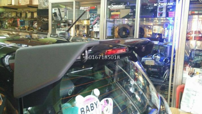 2005 2006 2007 2008 2009 2010 2011 suzuki swift zc spoiler craft style for swift add on upgrade craft style performance look real carbon fiber matt black fiber material new set